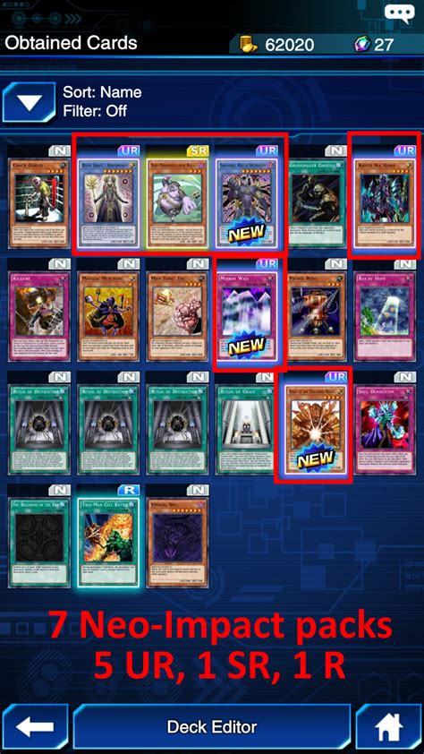 My Insane Rng From Neo Impact Packs Duellinks