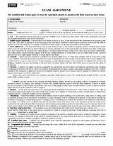 Free Farm Land Lease Agreement Form Free Blumberg Lease