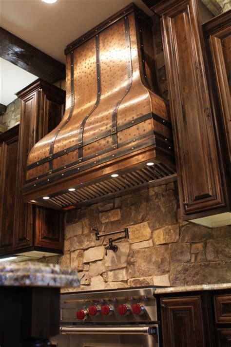 camillia kitchen copper range hood  art  rain