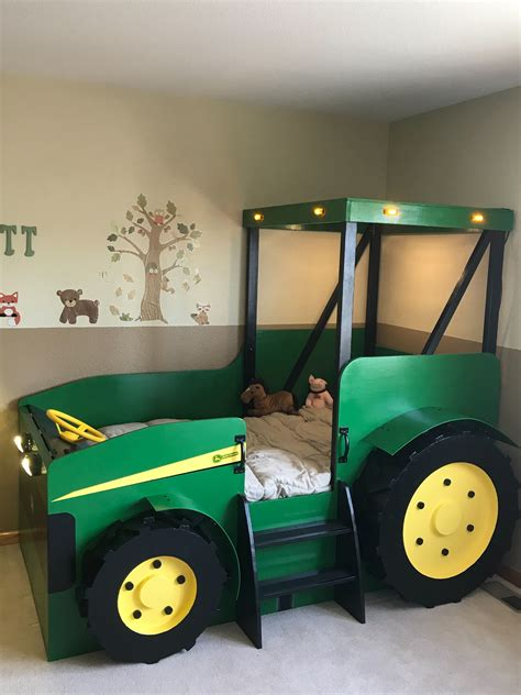 tractor bed plans  format create  farm themed