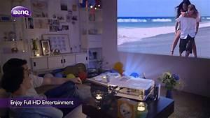 Videoprojecteur Salon : vid oprojecteur de salon avec projection lat rale youtube ~ Dode.kayakingforconservation.com Idées de Décoration