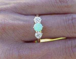 opal engagement rings opal engagement rings With opal and diamond wedding rings