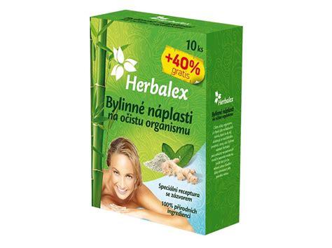 Bylinné náplasti na očistu organismu 10+40% GRATIS 14x9g ...