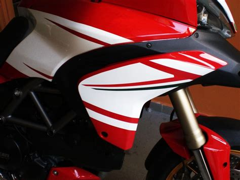 decal sticker kit tricolore  ducati multistrada