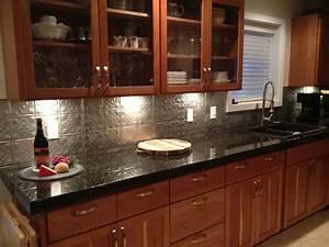 Metal Kitchen Backsplash Ideas Picture — Decor Trends