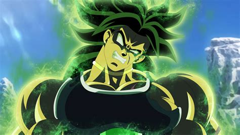 Dragon Ball Super: Broly Movie 4K 8K HD Wallpaper