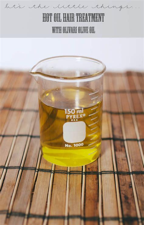 diy hot oil hair treatment  olivari olive oil gimme