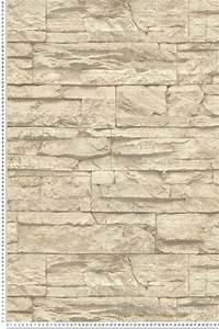 Papier Peint Imitation Pierre Naturelle : papier peint fausse pierre awesome papier peint imitation pierre grise carrelage salle de bain ~ Nature-et-papiers.com Idées de Décoration