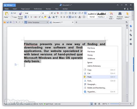 WPS Office Free Download (2020 Latest) for Windows 10, 8 ...