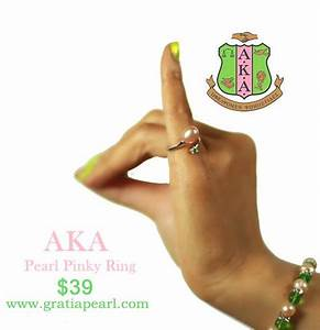 AKA Ring, Alpha Kappa Alpha Ring, AKA Pinky Ring | Gratia ...