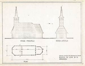 The Building Plan Of The Holy Archangels Church  Dr U0103ghia