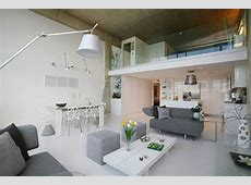 Beautiful Loft Design in London Freshomecom