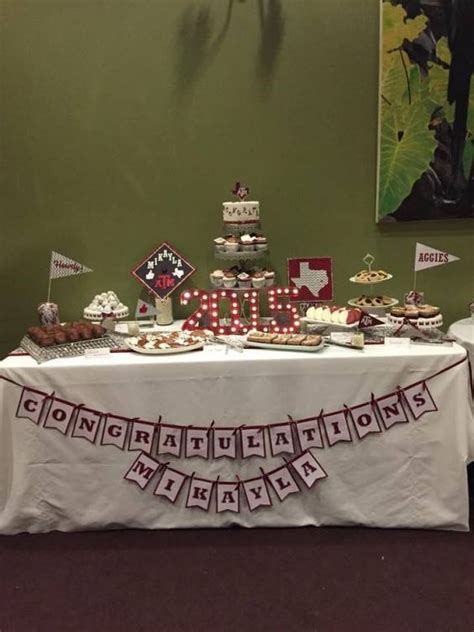 nursing graduation party ideas dessert tables