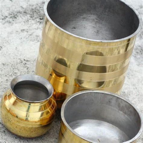 brass utensils vessels cooking indiamart