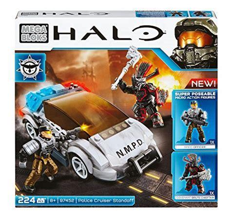 Mega Bloks Halo Police Cruiser Standoff   Playset toys