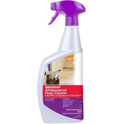 Rejuvenate Floor Cleaner Sds rejuvenate 32 oz antibacterial floor cleaner rj32abfc