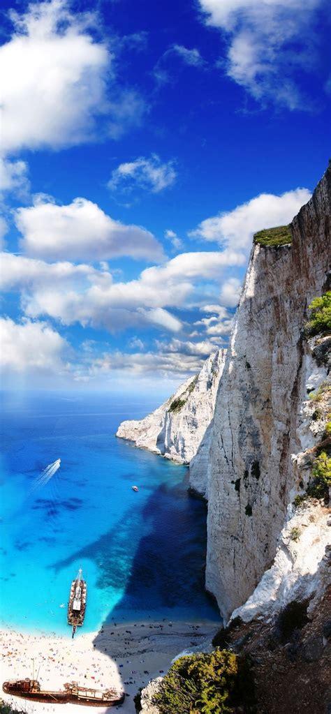 Navagio Beach Greece Places Pinterest