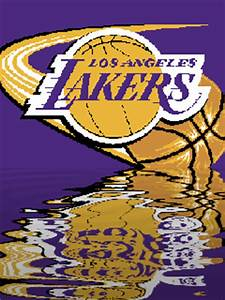Download L A Lakers 240 X 320 Wallpapers - 742232