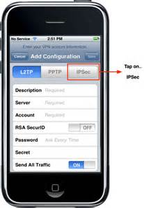 vpn on iphone vpn setup setup iphone vpn