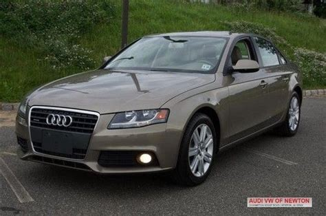 find used 2011 audi a4 2 0t premium in newton new jersey united states
