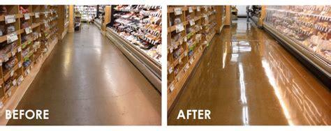 Concrete Floor Restoration, Repairing of Worn out Concrete