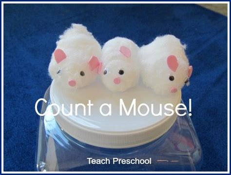 count a mouse story telling props and teach preschool 804 | Count a Mouse