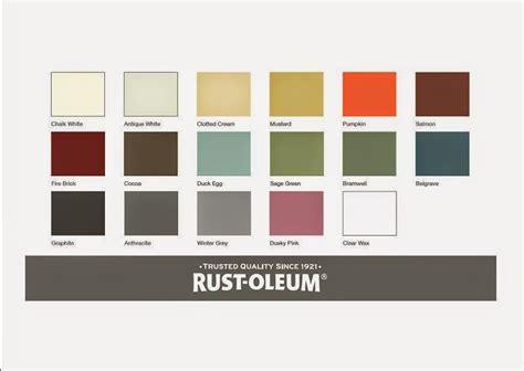 rustoleum colors rust oleum colour chart paint colors