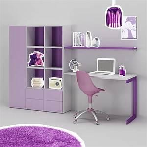 Bureau Ado Fille : bureau enfant ou ado fun moderne color moretti ~ Melissatoandfro.com Idées de Décoration