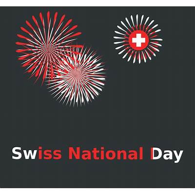 Clipart - Swiss national day