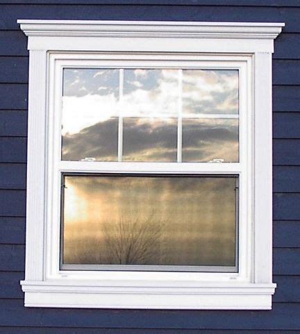 Outdoor Window Sill by Crossheads On Exterior Windows For The Home Exterior