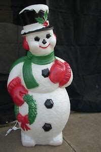 christmas blow mold yard decoration   snowman