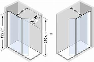 Volet Pivotant Seul Pour Paroi Fixe : paroi de douche fixe avec volet mobile 35 cm jeta domino verre transparent securite 6 mm profile ~ Mglfilm.com Idées de Décoration