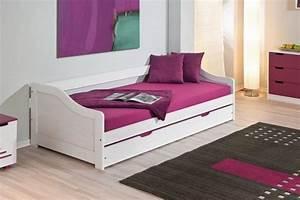 Lit Ikea 2 Personnes : lit gigogne 2 personnes maison design ~ Teatrodelosmanantiales.com Idées de Décoration