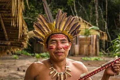 Tribes Rainforest Indigenous Brazilian Behance
