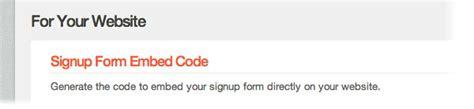 mailchimp embed signup form embed multiple mailchimp forms on your website