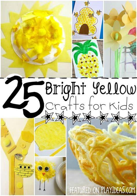 25 bright yellow crafts for preschoolers best 959   f5aff834781865451cedaa6b9e48c546