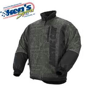 arctic cat jackets s arctic cat black stealth snowmobile jacket kens