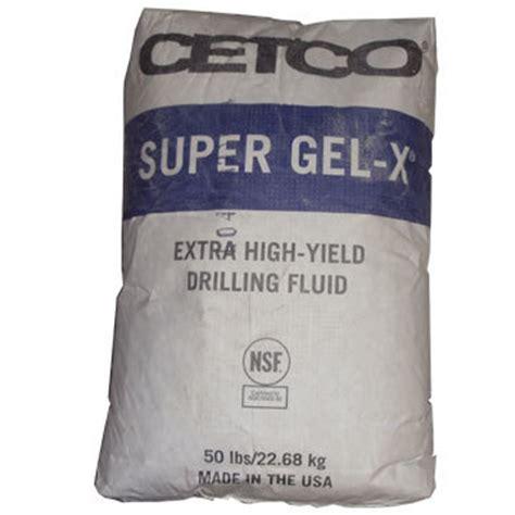 df sup gel x super gel x high yield bentonite