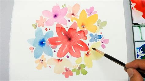 Cool Easy Flower Paintings  Wwwpixsharkcom Images