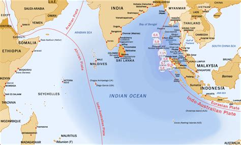 effect    indian ocean earthquake  india