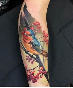 Bird Tattoos Designs and Meanings 2017