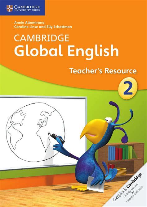 cambridge global english teachers resource book