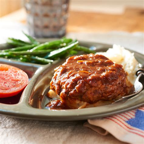 cuisine light salisbury steak with gravy cooking light