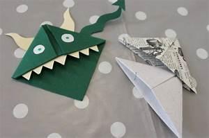Marque Page En Papier : diy les marques pages origami au poil de grenouille ~ Melissatoandfro.com Idées de Décoration