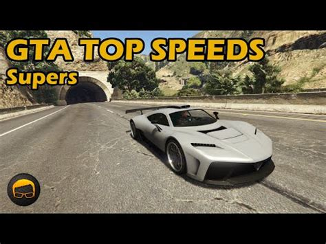 fastest supercars  gta   fully upgraded cars