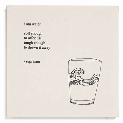 Water Am Rupi Kaur Quotes Poems Words