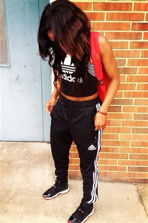 .bred 11s with adidas classic | Shoes | Pinterest | Cute workout outfits I love and Hip hop style