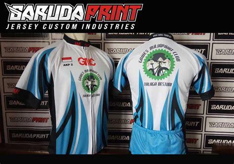 portofolio hasil jadi jersey sepeda printing garuda