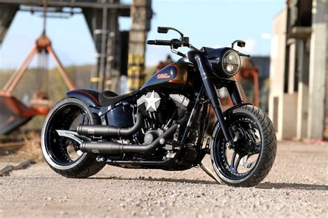 Noisy Boy • H-d Fat Boy Flstf Softail Custom Umbau
