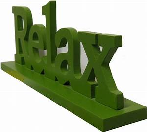 Deko Schriftzug Holz : relax schild aufsteller schriftzug aus holz gr n 30cm lang deko ebay ~ Eleganceandgraceweddings.com Haus und Dekorationen